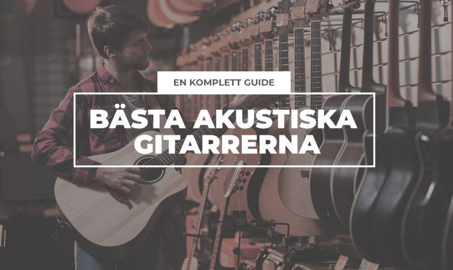 Köpguide: Bästa akustiska gitarren i alla kategorier 2021