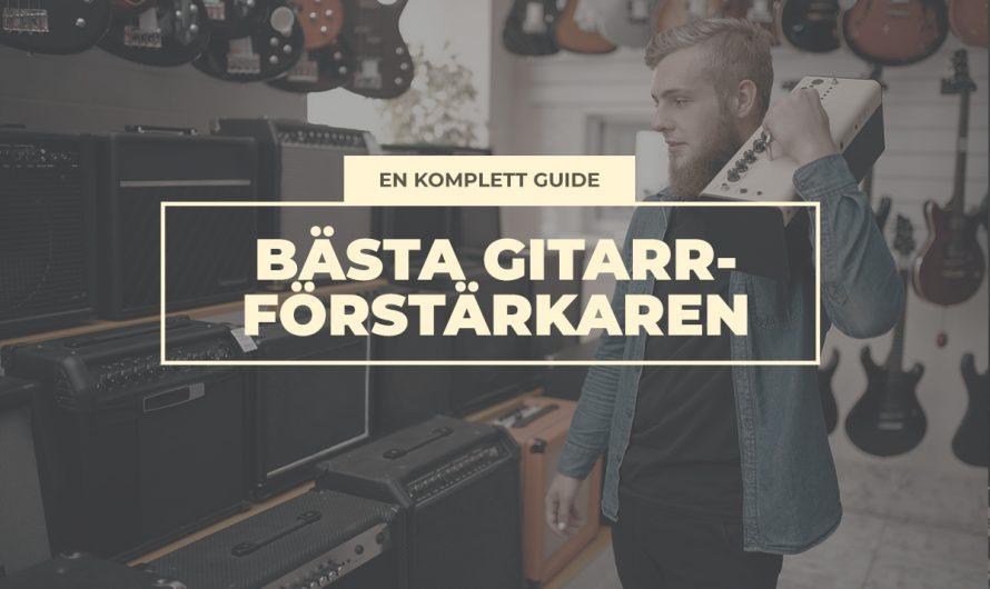 Köpguide: Bästa gitarrförstärkaren 2021 (alla genrer och syften)