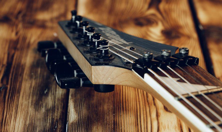 8 orsaker till att gitarren inte håller stämningen